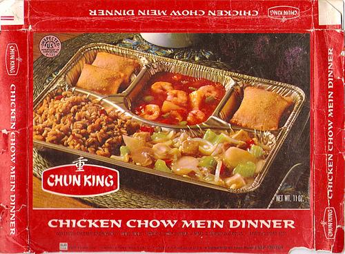 Chun King frozen dinner