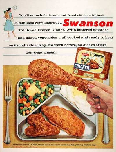 Swanson Fried Chicken TV Dinner