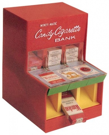 Marx Candy Cigarette Machine/Bank. 1950's