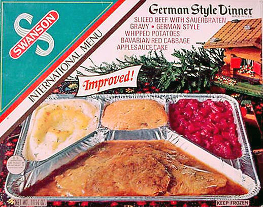 When TV Dinners Came In Aluminum Trays