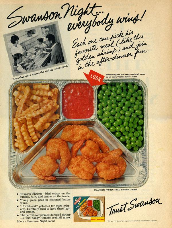 Swanson Shrimp TV Dinner