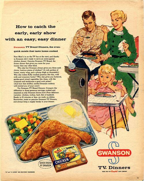 Swanson TV Dinner Ad